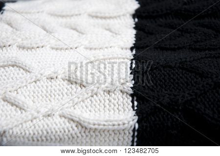 Knitted Woolen Fabric