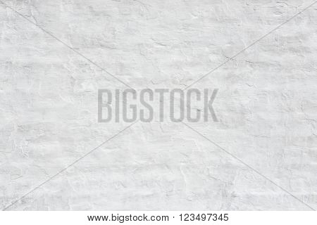 Rough white wall texture or background