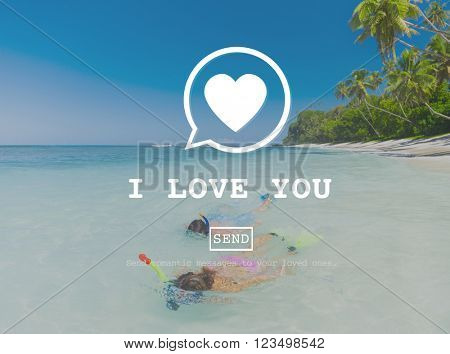 I Love You Valentine Romance Love Heart Dating Concept