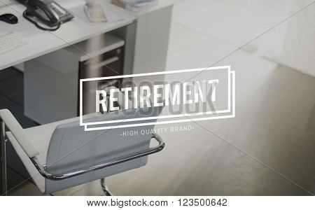 Retirement Pension Retire Planning Savings Wealth Concept