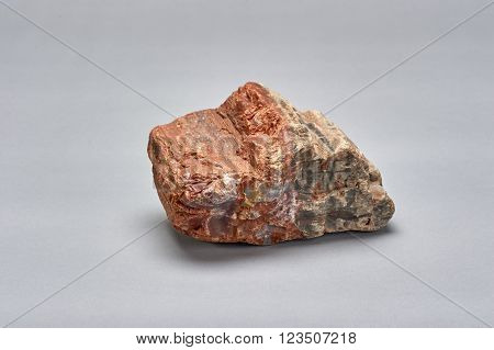 quartz rock used as office paper weight and ornament