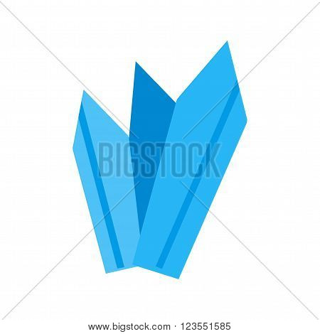 Icicles, snow, ice icon vector image. Can also be used for winter. Suitable for use on web apps, mobile apps and print media.
