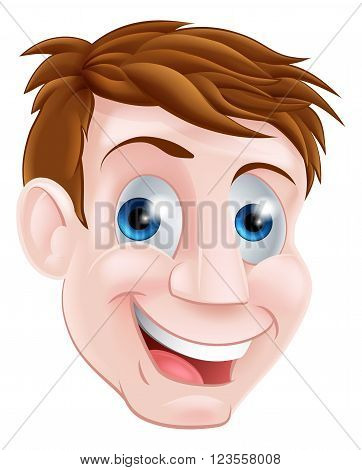 Man Cartoon Face