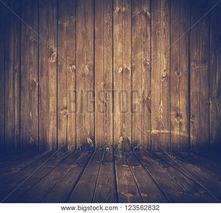 old wooden interior, retro film filtered, instagram style