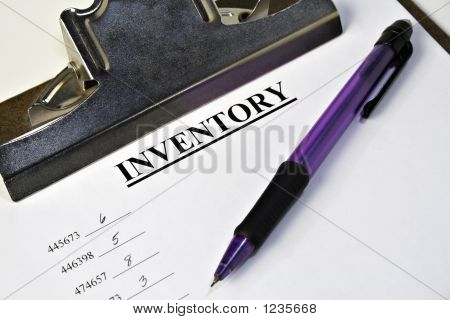 Inventory Clipboard