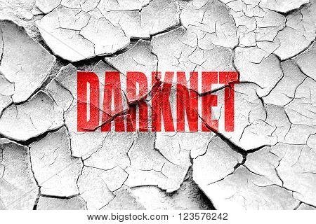 Grunge cracked Darknet internet background with some soft smooth lines