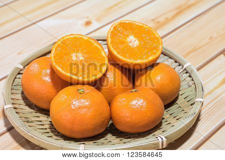 Sweet and sour very good Japanese orange.