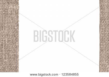 Textile structure fabric burlap buff canvas gunny material retro background