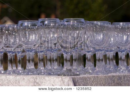 Stack Wine Glasses