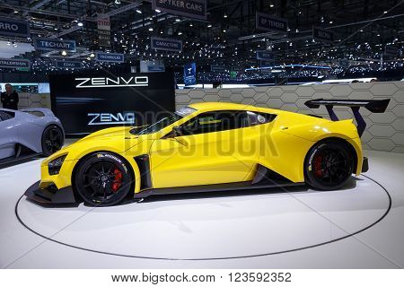 Zenvo Tsr Sports Car