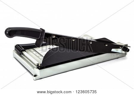Cutter for a paper isolated on white background