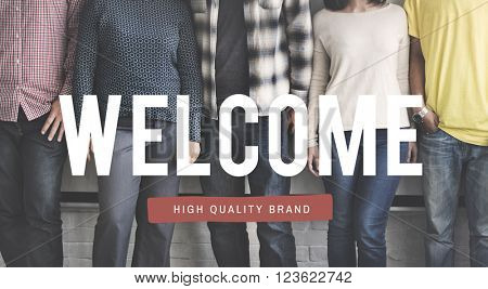 Welcome Available Opening Greeting Concept
