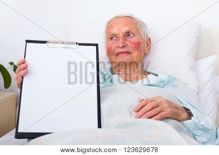 Nursing Home Copy Space