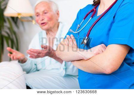 Nursing Home Care Concept