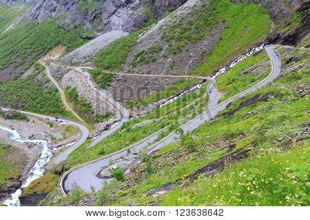 Norway Troll Road