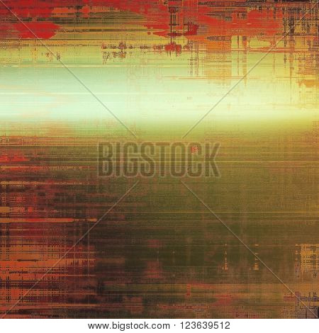 Art grunge background, vintage style textured frame. With different color patterns: yellow (beige); brown; green; red (orange); pink