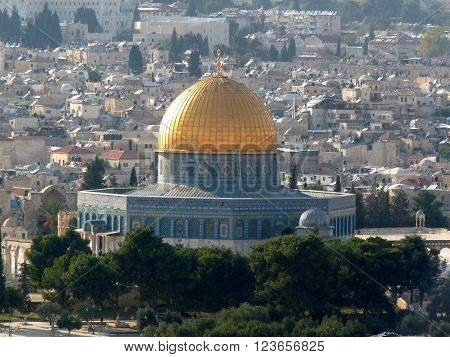 The Dome of the Rock Jerusalem Israel