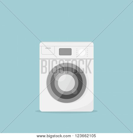Cartoon washing machine