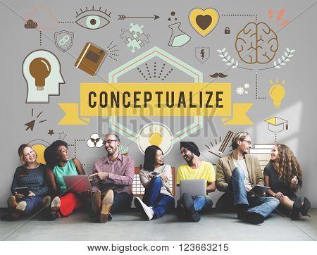 Conceptualize Conception Conceptual Ideas Plan Concept