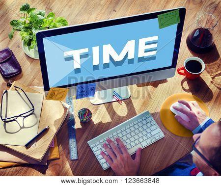 Time Management Punctual Duration Schedule Concept