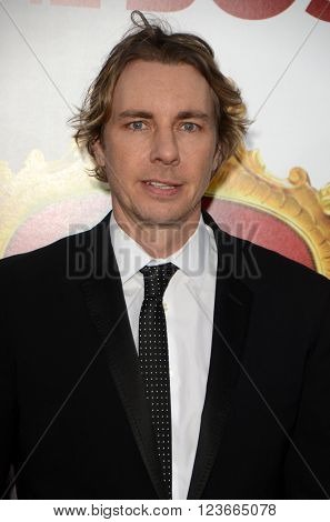 LOS ANGELES - MAR 28:  Dax Shepard at the The Boss World Premeire at the Village Theater on March 28, 2016 in Westwood, CA