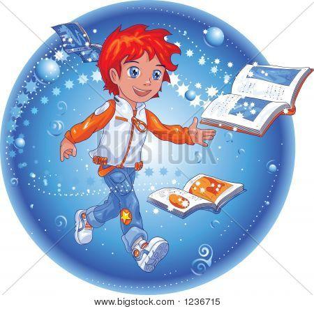 Book Magic Boy