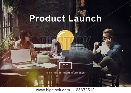Product Launch Start up Strategy Planning Business Concept