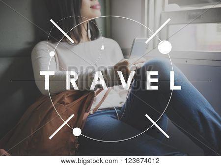 Travel Traveler Exploration Journey Tourism Concept