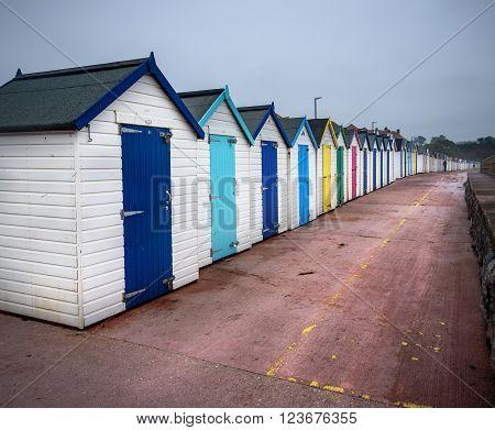 Quirky beach huts break on the  Coast of North Devon