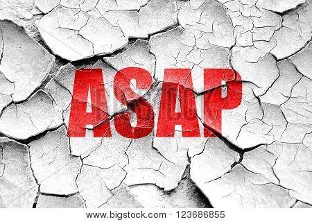 Grunge cracked asap internet slang with some soft smooth lines
