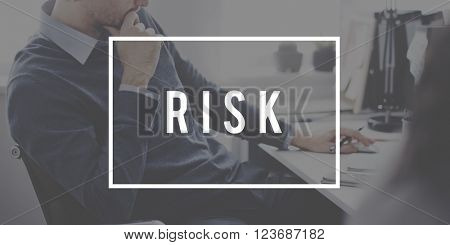 Risk Danger Unsure Assessment Business Concept