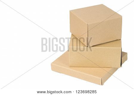 Brown Corrugated Paper Box