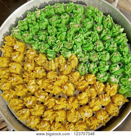 Chinese Steamed Dumpling,  Dim Sum