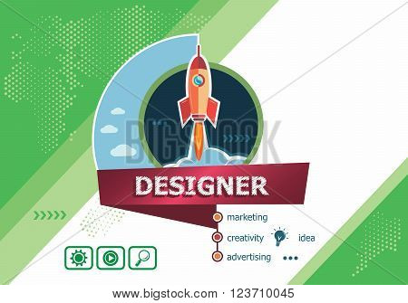 Designer Design Concepts For Business Analysis, Planning, Consulting, Team Work