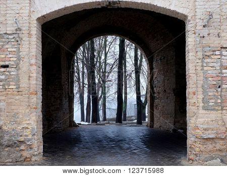 Castle Gate, Arch