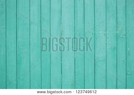 green wooden planks, wooden background, palisade background