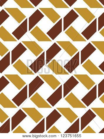 Colorful geometric seamless pattern symmetric endless vector background. Abstract crossing concept covering.