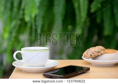 Cup Of Coffee With Brad Cookie