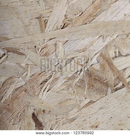 Wood particle board textured background. Space for your text