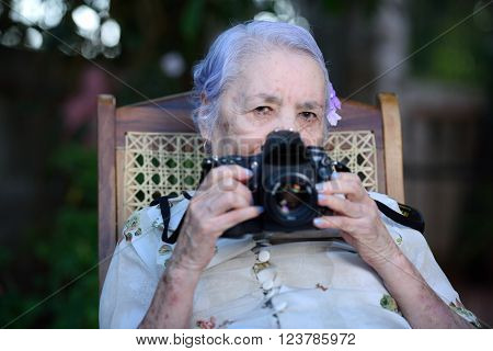 Grandma Photographer