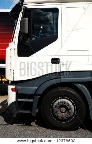 Semi Truck Cab Detail