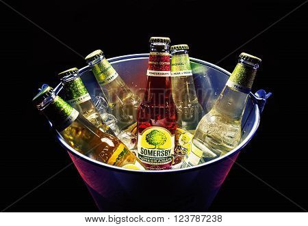 Six Bottles Of Somersby Drink