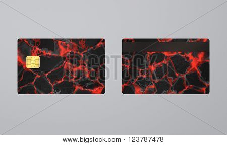 Lava Card With Ic
