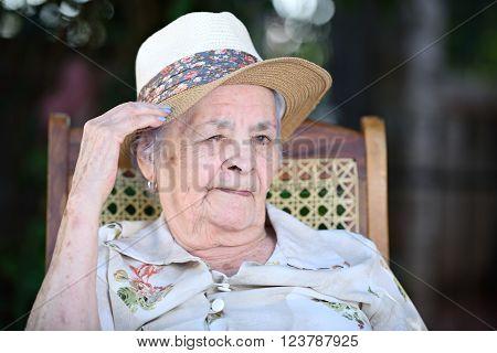 Winking Grandma
