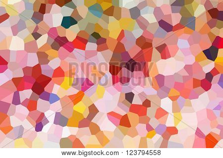 Colourful Crystallize Abstract Background In Pastel Colour Tone