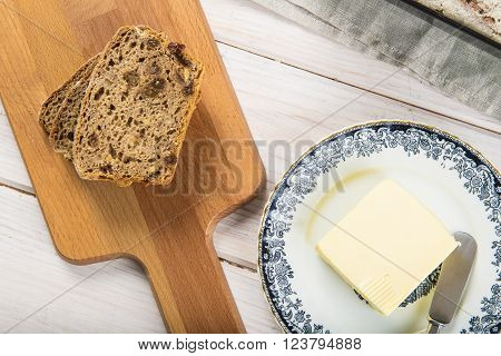 Rye Bread And Butter