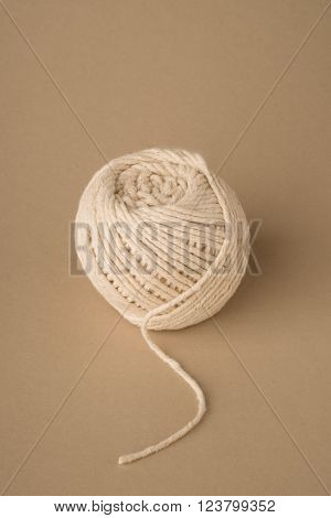 Ball Of White Wool