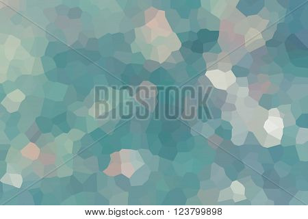 Colourful Crystallize Abstract Background In Soft Blue Colour Tone