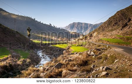 Picturesque Swat Valley lies in the north of Pakistan in Khyber Pakhtoonkhuwa Province.