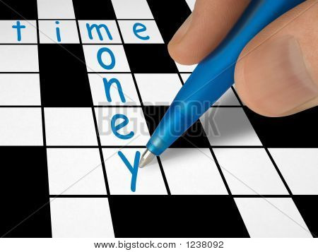 Crossword - Time And Money